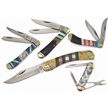 CCN-48056 CHANNEL INLAY COLLECTION  (5PCS) [Assorted • Pocket Knives • Premium Knives]