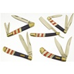 CCN-48244 COLORS THAT NEVER RUN (5PCS) [Assorted • Pocket Knives]