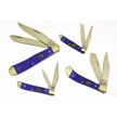 CCN-48587 BLACKHILLS BLUES  (4PCS) [Blackhills Steel • Pocket Knives]