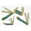 CCN-48885 ABALONE EXECUTIVES (4PCS) [Bear N Bull • Pocket Knives • Premium Knives]