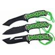 CCN-48949 MILSPEC BIO RAP TRIO (3PCS) [WarTech • Fixed Blades & Hunters • Hunting Knives]