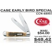 CCN-48957 CASE EARLY BIRD SPECIAL (1PC) [Case • Pocket Knives]