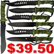CCN-49044 TODAY'S SPECIAL (7PCS) [Tac Assault • Fixed Blades & Hunters • Bowies]