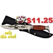 CCN-49197 GREAT WHITE BUFFALO (1PC) [Frost Cutlery • Fixed Blades & Hunters]