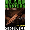 CCN-49202 BLADEMASTERS(144PCS) [Assorted • Dealer Assortments]