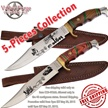 CCN-49360 VALLEY FORGE EXPRESS (5PCS) [Valley Forge • Fixed Blades & Hunters • Bowies]