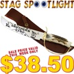 CCN-49955 SOUTHERN STAG GUARD (1PC) [Whitetail Cutlery • Fixed Blades & Hunters • Bowies]