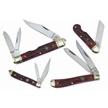 CCN-49978 WILD TURKEY BLOODBONE COLL (4PC) [Wild Turkey Cutlery • Pocket Knives]