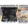 CCN-50380 HOMEMAKERS OF AMERICA (1PC) [Hen & Rooster Int'l • Kitchen Sets]