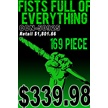 CCN-50925 FISTS FULL OF EVERYTHING (189PC) [Assorted • Swords, Canes & Armor]