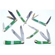 CCN-52146 UNCLE LUCKY SCRIPT SERIES (6PCS) [Uncle Lucky • Pocket Knives]