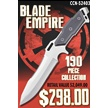 CCN-52403 BLADE EMPIRE (193PCS) [Assorted • Dealer Assortments]