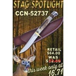 CCN-52737 STAG SPOTLIGHT (1PC) [Trophy Stag • Fixed Blades & Hunters • Bowies]