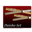 CCN-53048 BILLS BRIDE DAISHO (3PCS) [Assorted • Swords, Canes & Armor • Samurai/Katana]