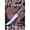 CCN-53301 TODAY'S SPECIAL (1PC) [Hen & Rooster • Fixed Blades & Hunters]