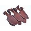 CCN-53390 DOUBLE STITCH LEATHER SHEATHS(6P [Other • Accessories]