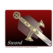 CCN-53464 EXCALIBUR SWORD W/ SCABBARD (1PC [Other • Swords, Canes & Armor]