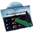 CCN-53517 ARTILLERY COLLECTION (12PCS) [Frost Cutlery • Tacticals & Folders • Lightweight]