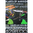 CCN-53844 BLADES OF A WARRIOR II(197PCS) [Assorted • Dealer Assortments]
