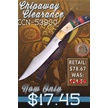 CCN-53900 CHIPAWAY CLEARANCE (1PC) [Chipaway Cutlery • Fixed Blades & Hunters]
