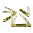 CCN-53977 WILD TURKEY TRIO (3PCS) [Wild Turkey Cutlery • Pocket Knives]