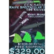 CCN-54032 KNIFE SPECTACULAR II (196PCS) [Miscellaneous • Dealer Assortments]