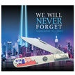 CCN-54112 9/11 WE WILL NEVER FORGET (1PC) [Ocoee River Cutlery • Pocket Knives]