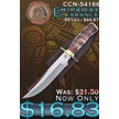 CCN-54166 CHIPAWAY CLEARANCE (1PC) [Chipaway Cutlery • Fixed Blades & Hunters]