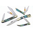 CCN-54232 ABALONE CONNECTION (4PCS) [Steel Warrior • Pocket Knives • Premium Knives]