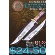 CCN-54353 CHIPAWAY CLEARANCE (1PC) [Chipaway Cutlery • Fixed Blades & Hunters]