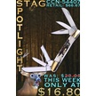 CCN-54407 STAG SPOTLIGHT (1PC) [Whitetail Cutlery • Pocket Knives]