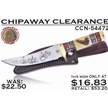 CCN-54472 CHIPAWAY CLEARANCE (1PC) [Chipaway Cutlery • Fixed Blades & Hunters]