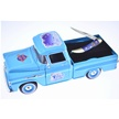 CCN-55079 BLUE CHRISTMAS TRUCKING (1PC) [Frost Cutlery • Collectors' Items]
