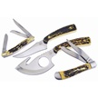 CCN-55091 ROCKY MOUNTAIN TRAIL MIX (4PCS) [Assorted • Fixed Blades & Hunters]