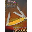 CCN-55133 VALLEY FORGE EARLY BIRD (1PC) [Valley Forge • Pocket Knives]