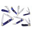 CCN-55146 CHRISTMAS BLUES COLLECTION (6PCS [Frost Cutlery • Pocket Knives]