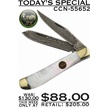 CCN-55652 TODAY'S SPECIAL (1PC) [Hen & Rooster • Pocket Knives]