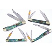 CCN-55656 ABALONE EXECUTIVE MIX (4PCS) [Steel Warrior • Pocket Knives]