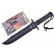 CCN-55677 BLACKOUT SURVIVAL COMBO (2PCS) [Frost Cutlery • Fixed Blades & Hunters]