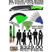 CCN-55800 BE YOUR OWN BOSS (217PCS) [Frost Cutlery • Dealer Assortments]