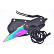 CCN-55965 WARTECH RAINBOW TITANIUM BOLO(1P [WarTech • Fixed Blades & Hunters]