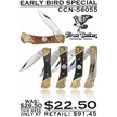 CCN-56055 EARLY BIRD SPECIAL (5PCS) [Frost Cutlery • Pocket Knives]