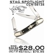 CCN-56134 STAG SPOTLIGHT (1PC) [German Bull • Pocket Knives • Premium Knives]