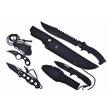 CCN-56267 BLACKOUT XTREME (4PC) [Tac Assault • Fixed Blades & Hunters]