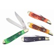 CCN-56304 SWAYBACK TRAPPER COLL. (4PCS) [Whitetail Cutlery • Pocket Knives]