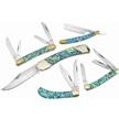 CCN-56538 CHEROKEE STONE SHOP (5PCS) [Cherokee Stoneworks • Pocket Knives • Premium Knives]