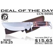 CCN-56560 DEAL OF THE DAY (1PC) [Crowing Rooster • Fixed Blades & Hunters • Skinning Knives]