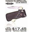 CCN-56833 TODAY'S SPECIAL (1PC) [Crowing Rooster • Pocket Knives]