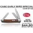 CCN-57122 CASE EARLY BIRD (1PC) [Case • Pocket Knives • Premium Knives]