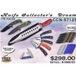 CCN-57125 KNIFE COLLECTOR'S DREAM (175PCS) [Assorted • Dealer Assortments]